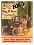 Mother Needs A Ford, Buy It Now Giclée-Druck von J.w. Pondelicek