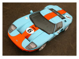 2006 Ford GT Heritage Livery Giclée-Druck