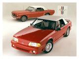 Ford Mustang Convertibles Reproduction procédé giclée