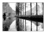Canal, Normandy, France Arte por Bill Philip