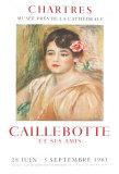 Caillebotte Lámina coleccionable por Pierre-Auguste Renoir