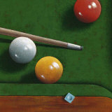 Billiards Posters by Bill Romero