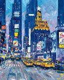 タイムズ・スクエア, ニューヨーク市, 写真 ポスター : ロイ・エイビス