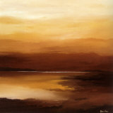 Evening Sky II Posters av Hans Paus