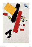 Dynamischer Suprematismus Nr. 57, c.1916 Posters por Kasimir Malevich