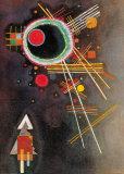 Strahlenlinien Poster von Wassily Kandinsky