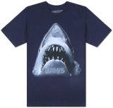Jaws - Large Face T-skjorter