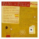 Pizza Poster di Céline Malépart