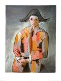 Arlequin, Les Mains Croisee, 1923 Pôsteres por Pablo Picasso