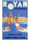 Royan, Cote de Beaute Giclée-tryk af Paul Ordner