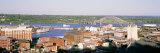 Aerial View of Dubuque, Iowa, USA Photographic Print