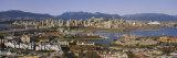 Aerial View of Vancouver, British Columbia, Canada Fotografisk trykk av Panoramic Images,