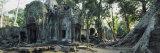 Old Ruins of a Building, Angkor Wat, Cambodia Photographic Print