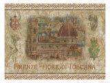 Florenz – Blüte der Toskana Poster von Thomas L. Cathey