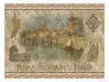 Rom – Ruhm Italiens Poster von Thomas L. Cathey