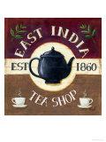 East India Tea Shop Poster von Mid Gordon