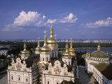 Dormition Cathedral, Kyiv-Pechersk Lavra monastery, Kiev, Ukraine Photographic Print by Jon Arnold