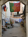 Courtyard, Lisbon, Portugal Photographic Print by Demetrio Carrasco