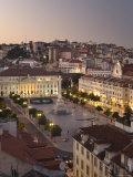 Praca Do Pedro Iv Square, Lisbon, Portugal Photographic Print by Demetrio Carrasco