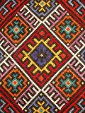 Traditional embroidery, Zakarpattia Oblast, Transcarpathia, Ukraine Fotografie-Druck von Ivan Vdovin