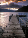 Lake Wakatipu, Queenstown, South Island, New Zealand Reproduction photographique par Doug Pearson
