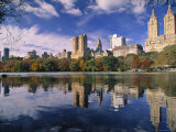 Central Park, New York City, Ny, USA Fotoprint av Walter Bibikow