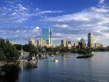 Back Bay, Boston, Massachusetts, USA Fotoprint av Walter Bibikow