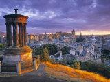 Stewart Monument, Calton Hill, Edinburgh, Scotland Reproduction photographique par Doug Pearson