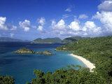 Trunk Bay, St. John, Us Virgin Islands, Caribbean Reproduction photographique par Walter Bibikow