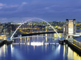 Newcastle, Tyne and Wear, England Photographic Print by Robert Lazenby