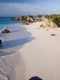 Horseshoe Bay, South Coast Beaches, Southampton Parish, Bermuda Reproduction photographique par Gavin Hellier