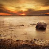 Silent Rock Photographic Print by Irene Suchocki