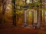 Ruins Portal Photographic Print by Irene Suchocki