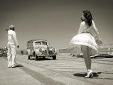 Pontiac Woody Station Wagon Fotografie-Druck von Dmitry Popov