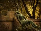 Statue Rest Photographic Print by Irene Suchocki