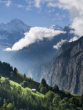 Wengen and Lauterbrunnen Valley, Berner Oberland, Switzerland Photographic Print by Doug Pearson