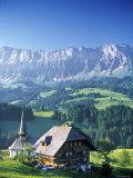 Emmental Valley, Switzerland Fotografie-Druck von Peter Adams