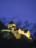 Castle at Vaduz, Liechtenstein Photographic Print by Walter Bibikow