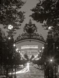 Arc de Triomphe in Parijs Fotoprint van Peter Adams