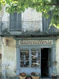 Shop in Sault, Provence, France Fotografie-Druck von Peter Adams
