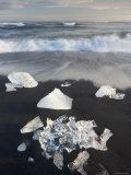 Jokulsarlon Glacial Lagoon, Iceland Fotografie-Druck von Peter Adams