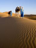 Merzouga, Erg Chebbi, Sahara Desert, Morocco Impressão fotográfica por Gavin Hellier