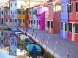 Burano, Venice, Italy Photographic Print by Alan Copson