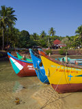 Baga, Goa, Panaji, India Impressão fotográfica por Walter Bibikow