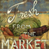 From the Market IV Schilderij van Daphne Brissonnet
