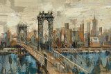Vista de Nueva York Lámina por Silvia Vassileva