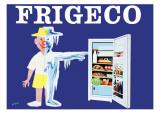 Frigeco Posters tekijänä Raymond Savignac