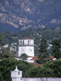 Scenic of Santa Barbara, California Reproduction photographique par Nik Wheeler