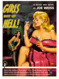Girls Out of Hell! Pôsters por George Gross