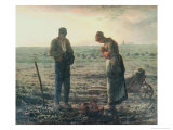 The Angelus, c.1857-59 Giclee Print by Jean-François Millet